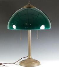 "New listing Large Emeralite Dome 14"" Shade Corinthian Column 20.5"" Base Table Lamp"