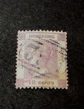 Hong Kong  Stamp Scott# 4  Queen Victoria 1862 L99