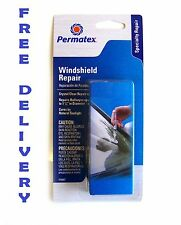 PERMATEX Windshield repair 16067 bullseye crystal clear repair easy to use