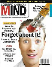 Scientific American Mind magazine Memory Best illusions of the year Partners
