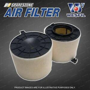 Wesfil Air Filter for Audi A4 B9 Q5 SQ5 FY S4 B9 S5 F5 3.0 TDi TFSi V6 24V 16-On