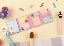 We Bare Bears Sticky Memo Pad Note Cute Design Stationery