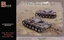 Pegasus 1/72nd Scale WWII Russian KV-1S Battle Tank Model Kit Includes 2 Tanks