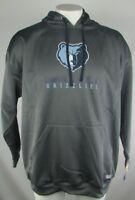 Memphis Grizzlies NBA Gray Long Sleeved TX3 Warm Pullover Fleece Hoodie
