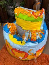 Ready Steady Bed, Bean Bag Chair, Savannah Animals
