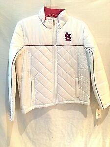 St. Louis Cardinals ladies lightweight jacket-Large-Full-Zip-NWT-Redbirds gear