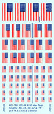 US-118 - US Flags - 1/100-1/76 Decals