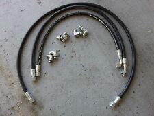 "06-09 Chevy Silverado Duramax & 8.1 liter Allison transmission cooler hoses 1/2"""