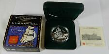 1999 Royal Canadian Mint $1 Silver 225th Ann. Queen Charlotte Island Proof