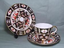 Royal Crown Derby Trio Tea Cup Saucer & Side Plate Imari Pattern 2451 (Lot 3)