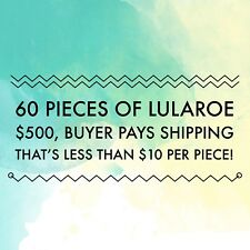 LuLaRoe 60-Piece Inventory!  Solids!  Disney!  Elegant!  Proced to Sell!
