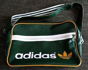 Adidas Umhängetasche Orig. Airliner Bag Vintage Green Grün Retro Sporttasche