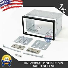 Universal Double Din Car Stereo European Radio Sleeve Cage Mounting Kit 100mm Us