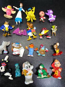 20 Vtg Mini Figure Lot 80s 90s Strawberry Shortcake Disney Cookie Monster