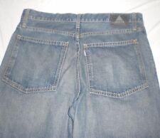 Levis Silver Tab Jeans Low Loose Denim Mens 34 x 31 Silvertab Make to SHORTS