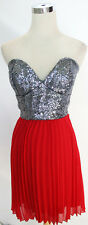 B DARLIN Red Dance Homecoming Party Dress 5 - $60 NWT