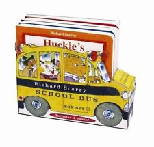 Richard Scarry School Bus Box Set by Richard Scarry (Board book, 2014)