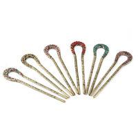 Hairpins Hair Pins U Shape Bobby Clip Style Bun Maker Girls Womens Accessory D