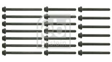 VW EOS 1F 3.2 Cylinder Head Bolts 06 to 09 BUB Set Kit 022103384MS1 022103384M