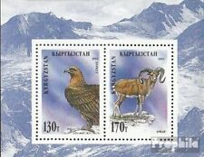 Kyrgyzstan block7a unmounted mint / never hinged 1995 Locals Flora