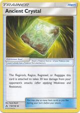 4x Ancient Crystal - 118/156 - Uncommon Pokemon Near Mint Ultra Prism