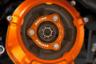 EVOTECH EMPUJE DISCO ALUMINIO NARANJA NEGRO SILVER KTM 1290 SUPER DUKE R