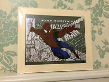 Marvel's Spiderman, Hand Drawn and Painted Animation Cel by Artist Chris Kay