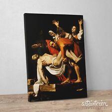 Caravaggio, Deposizione di Cristo - Stampa Fine Art HR su tela Canvas Pietà