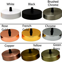 Ceiling Rose Pendant Cable Grip Flex Clamp Plate For Light Fitting 100 mm Choose