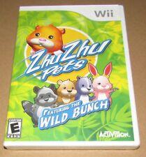 Zhu Zhu Pets: Featuring the Wild Bunch (Nintendo Wii) Brand New / Fast Shipping
