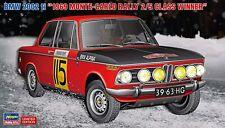 Hasegawa 1/24 BMW 2002ti 1969 Monte Carlo Rally 2/5 Class Winner US Seller!