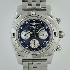 Breitling Chronomat B01, 44mm, Ref AB011012, Men's, Stainless Steel, Chronograph