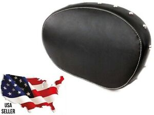 LEATHER REAR PASSENGER BACKREST SISSY BAR PAD INDIAN MOTORCYCLE 2014-2019 CHIEF