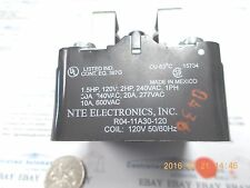 NTE Electronic, INC. R04-11A30-120 Power Relay