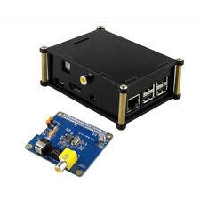HIFI DiGi Digital Sound Card + Protective Acrylic Case for Raspberry pi 3 2