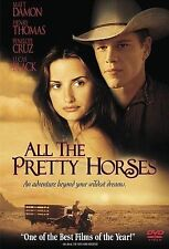 All the Pretty Horses (DVD, 2001) Brand New Matt Damon Penelope Cruz