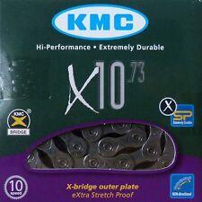 Cadena De Bicicleta KMC X-10-73 Eslabones 114 en Cartón Original