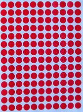 """Color Coding Labels 3/8"""" Stickers Rounds Dot Colored 0.375 Inch Circle 10mm"""