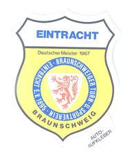 Eintracht Braunschweig Aufkleber Sticker Logo Bundesliga Fussball #222
