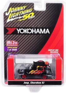 Johnny Lightning - Yokohama Jeep Cherokee XJ - MiJo Exclusive 1:64 Diecast
