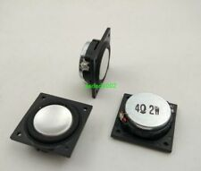 "2pcs 1"" inch 28MM 4Ohm 4Ω 2W Square full-range speakers Loudspeaker Ultra-thin"