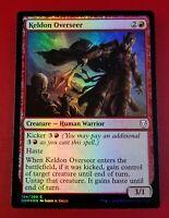 1x Keldon Overseer | FOIL | Dominaria | MTG Magic Cards
