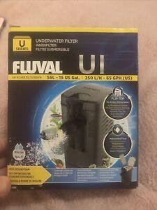 @ FLUVAL NEW U1 INTERNAL FILTER SUBMERSIBLE ADJUSTABLE AQUARIUM FISH TANK