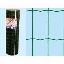Rete Recinzione Plastificata Verde Florida 25 mt - H. 60 cm - maglia 75x50mm