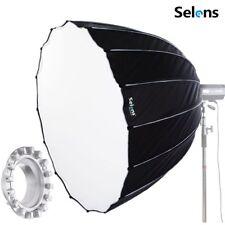 Selens 120 cm Hexadecagon parapluie lumière Modificateur Parabolique Softbox Bowens Mount