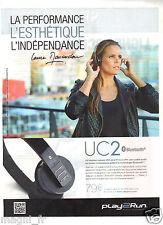 Publicité 2014 - PLAY2RUN UC2 présenté par Laure Manaudou