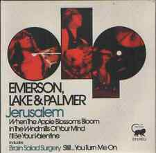 Emerson Lake & Palmer-Jerusalén .7""