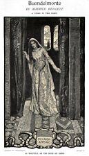 Elizabeth Shippen Green BUONDELMONTE Maurice Hewlett PART I Bookplates 1903