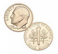 1970 S US Mint Roosevelt Proof 10 Cent Dime Coin