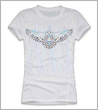 T-SHIRT  DONNA GUFO COLORATO  OWL COLOUR GLAM FLY GEN0533